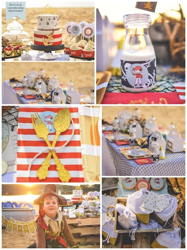 Children's Pirate Birthday Party