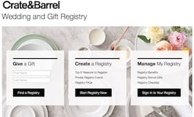 Gift & Wedding Registry