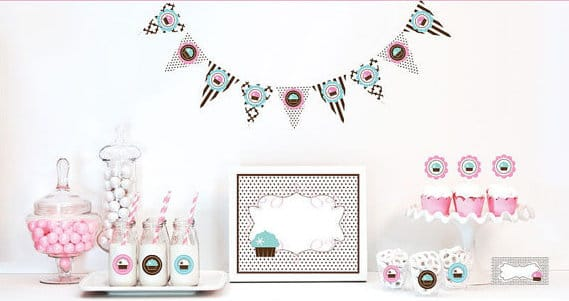 Cupcake Party Decorations