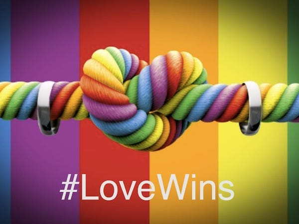 #LoveWins Marriage Equality
