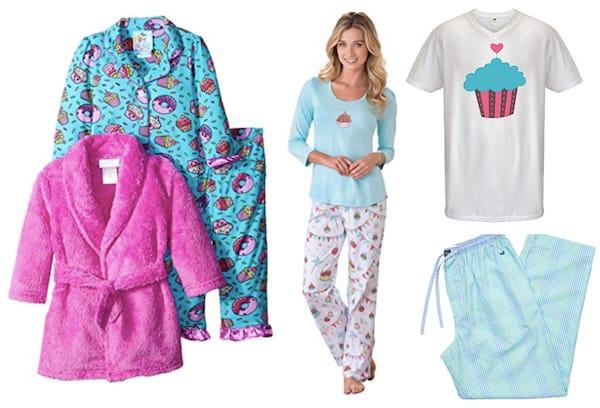 Mommy Daddy and Me Cupcake Love Matching Birthday Pajamas, Family Matching Pancake, Donut and Cupcake Pajamas