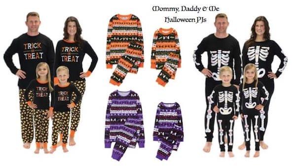 Mommy Daddy & Me Halloween Pajamas