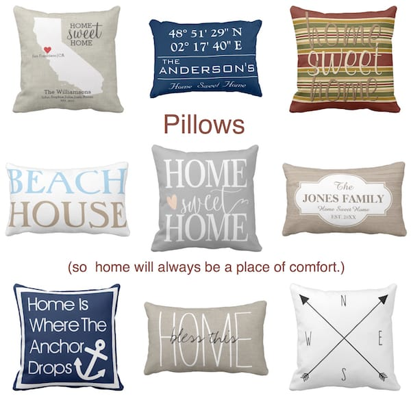 Home Throw Pillows Housewarming Gifts, Housewarming Party Gifts with Special Meaning