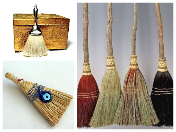 Vintage and Handmade Brooms Housewarming Gifts, Housewarming Party Gifts with Special Meaning