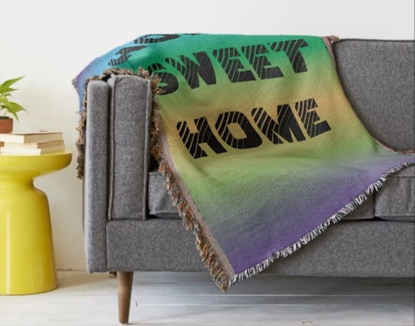 home sweet home throw blankets, Housewarming Party Gifts with Special Meaning