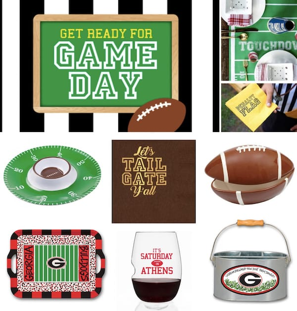 Tailgate & Celebrate Football Themed Couples Wedding Shower Decor and Supplies