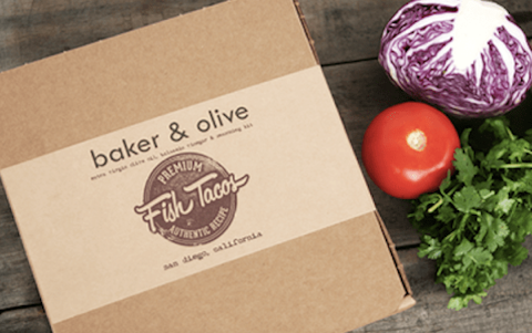 Baker And Olive Fish Taco Kit