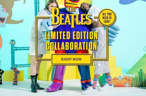 Beatles Happy Socks