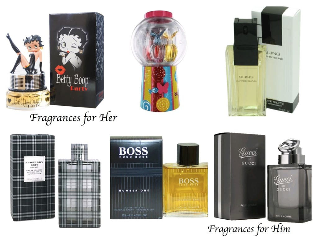 Fragrances for Him and Her