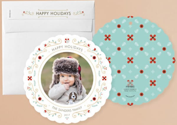 Holiday Ornament Cards