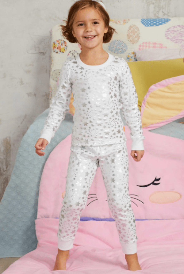 Kids Metallic Star PJs