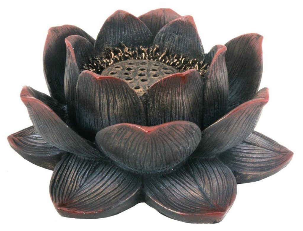 Meditation Incense Burner Lotus Flower