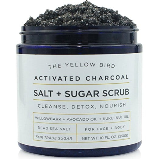 Natural Activated Charcoal Face Scrub Body Scrub