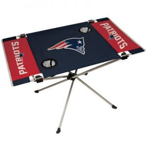 New England Patriots End Zone Table