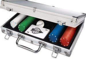 Poker Set In Aluminum Case