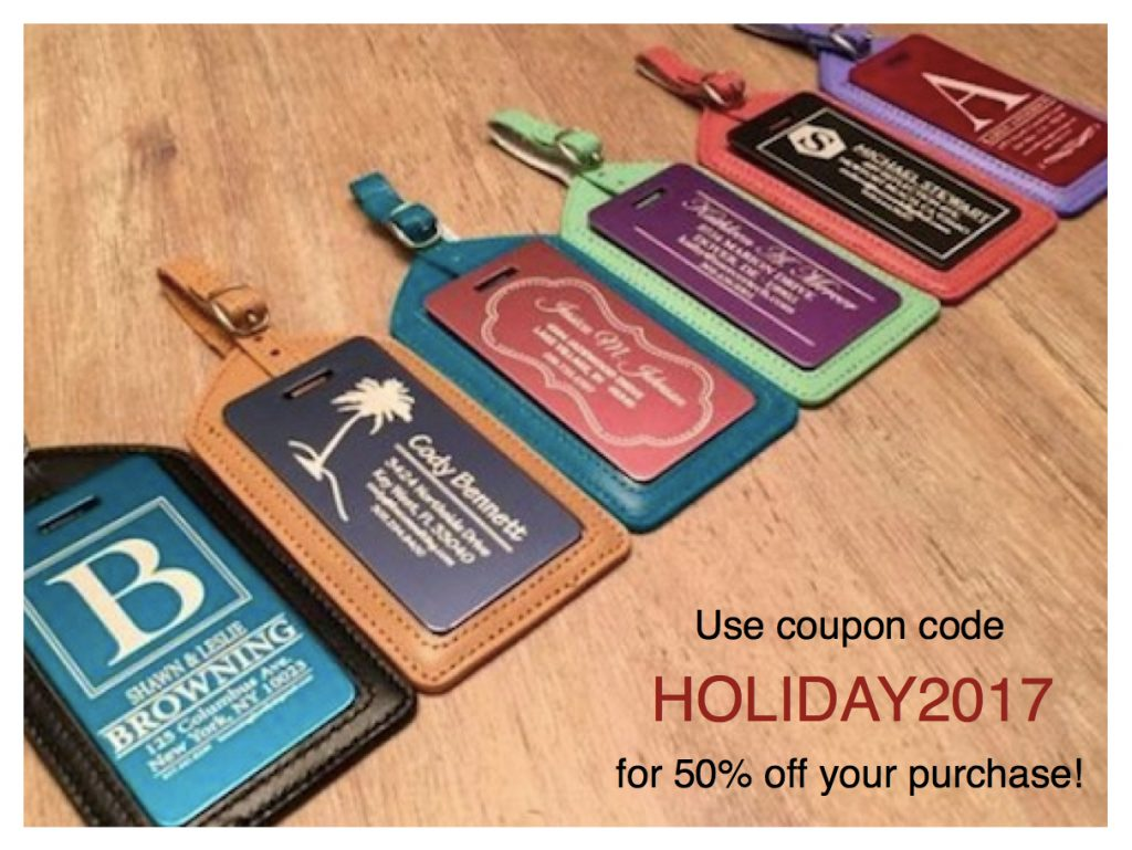 Qualtry Colored Luggage Tags