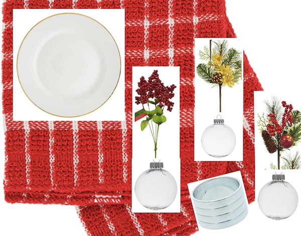 Setting a Holiday Table on a Budget