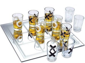 Shot Glass Tic Tac Toe Game