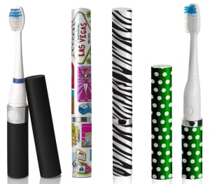 Slim Sonic Travel Toothbrush