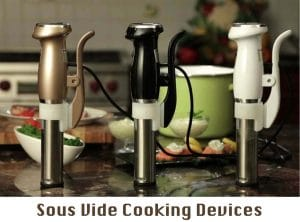 Sous Vide Cooking Devices