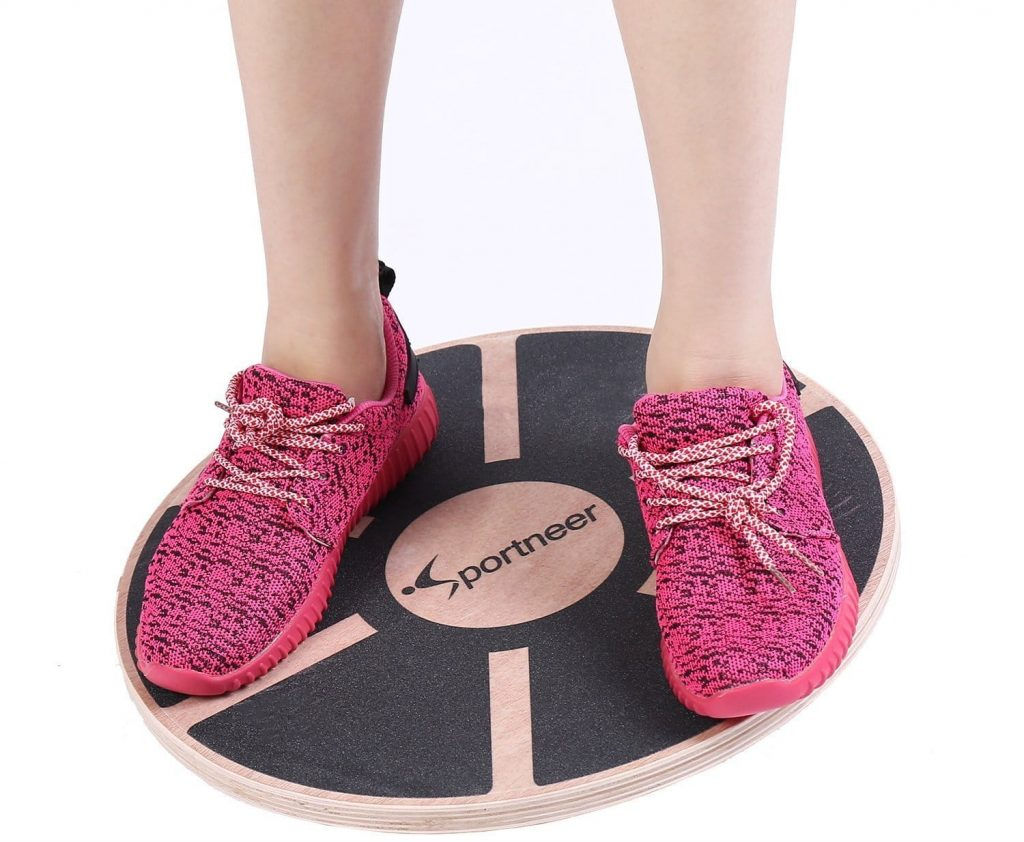 Sportneer Wooden Board For Balance