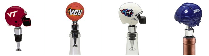 Sports Team Bottle Stoppers
