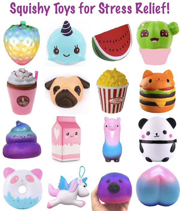 Squishy Toys Stress : Grab Bag Gift Ideas - Christmas & White Elephant Gift Exchanges, Stocking Stuffers, Gag Gift ...