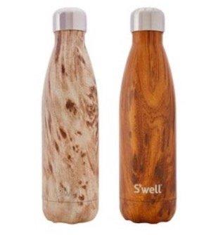 Swell Wood Water Bottle