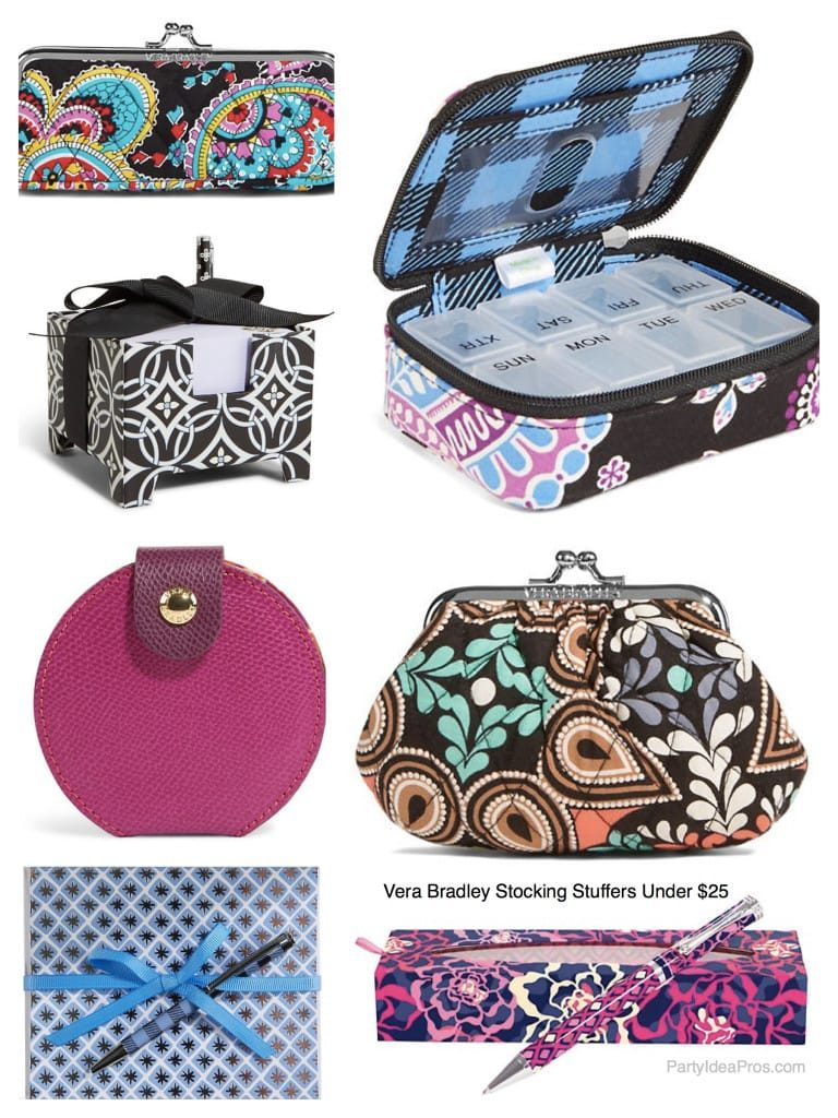 Vera Bradley Stocking Stuffers Under 25