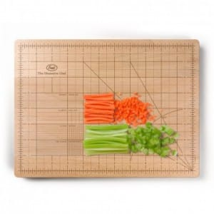 W precision cutting board