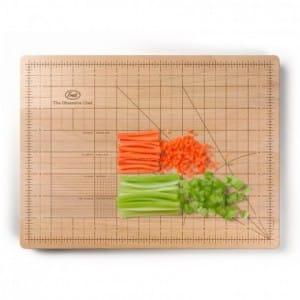 W precision cutting board