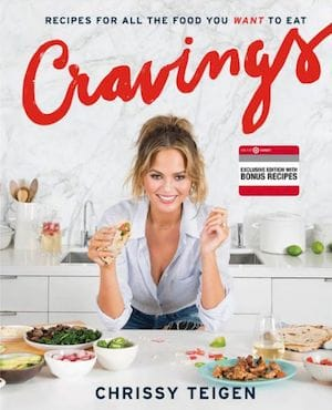 Chrissy Teigen Cookbook Cravings Recipes Holiday Gift