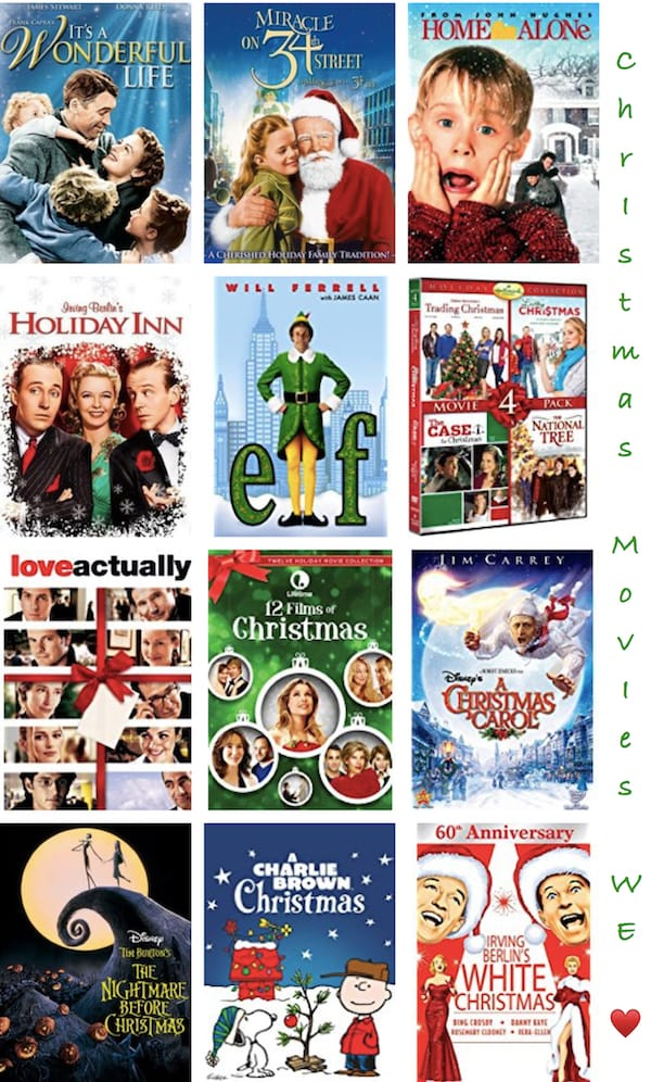 Christmas Movies We Love to Watch Every Year