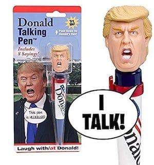 Donald Trump Gift Hilarious Talking Pen