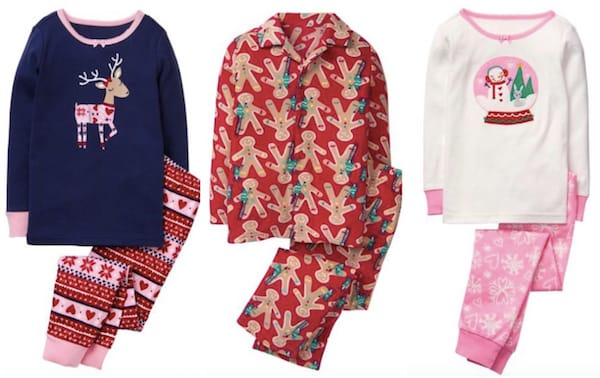 Gymboree cyber monday pajamas