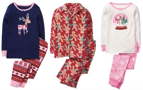 Gymboree cyber monday pajamas
