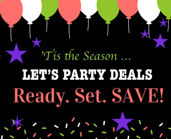 Best December Holiday Time Let's Party Deals