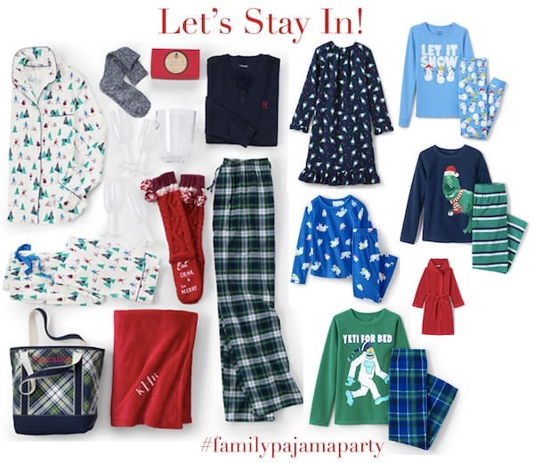 The Most Wonderful Time of the Year Family Pajama Party