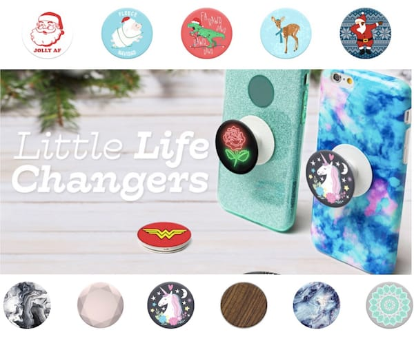Popsockets holiday gift accessory for phone
