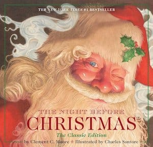 The Night Before Christmas the Classic Edition Book