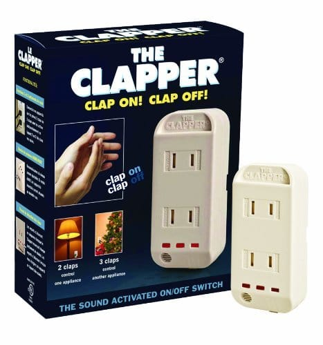The Clapper Sound Activated Plug