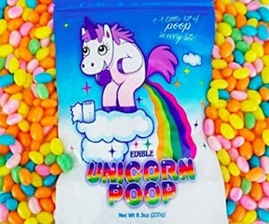 Unicorn Poop Jelly Bean Candy Gag Gift