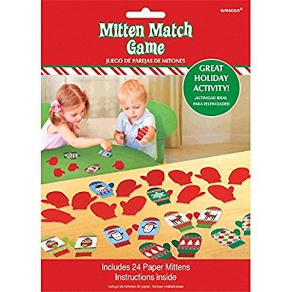 Mitten mix and match game