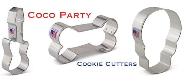 Coco Party Cookie Cutters