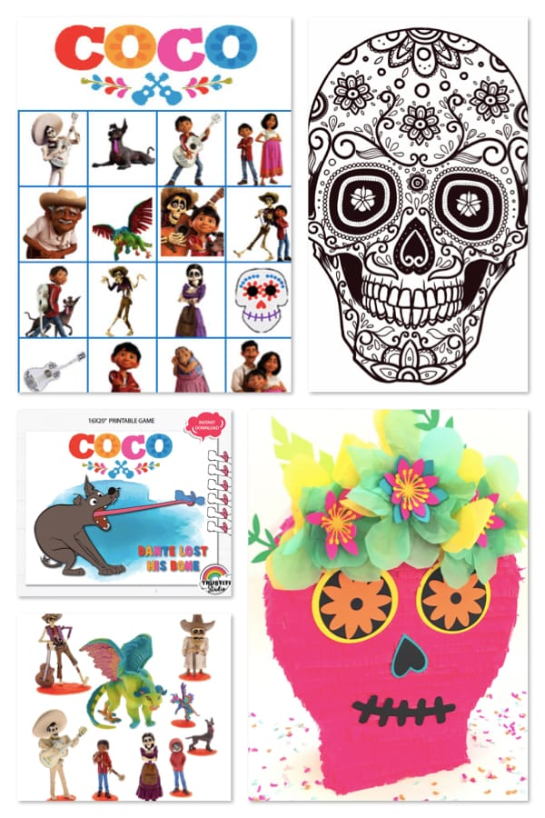 Coco Themed Birthday Party Activities
