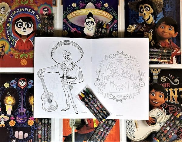 Coco ernesto de la cruz coloring book