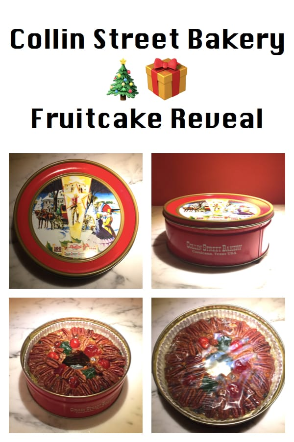 Collin Street Bakery Fruitcake Reveal