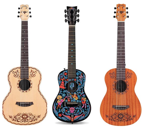 Disney Pixar Coco Acoustic Guitar