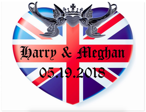 Harry & Meghan Royal Wedding Save the Date May 19, 2018