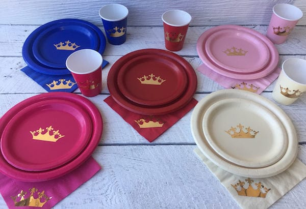 Metallic Gold Crown Party Supplies